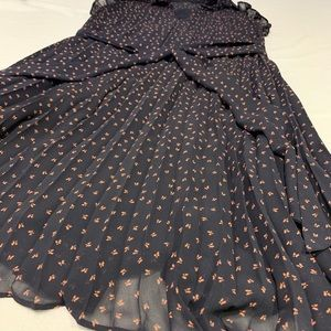 Ann Taylor petite sleeveless dress flowing XSP